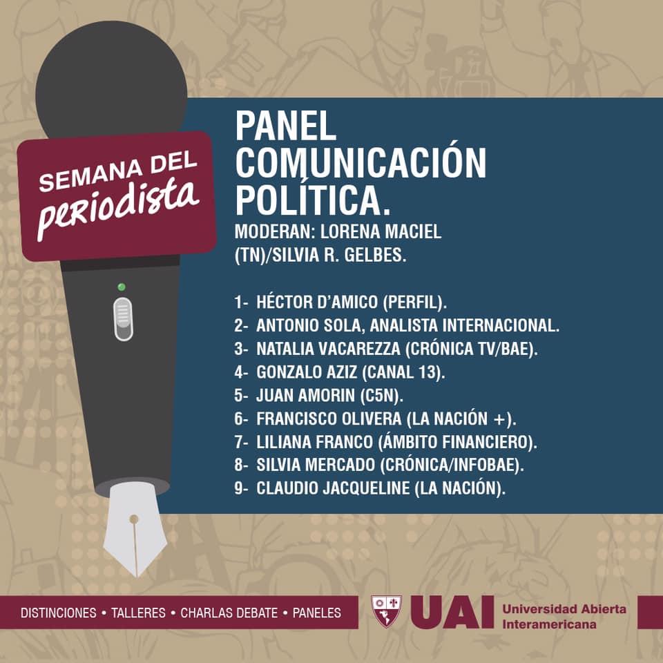 Semana del Periodista 2019 | Universidad Abierta Interamericana